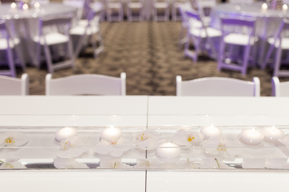 DeVos Place Event with Classic White Furniture