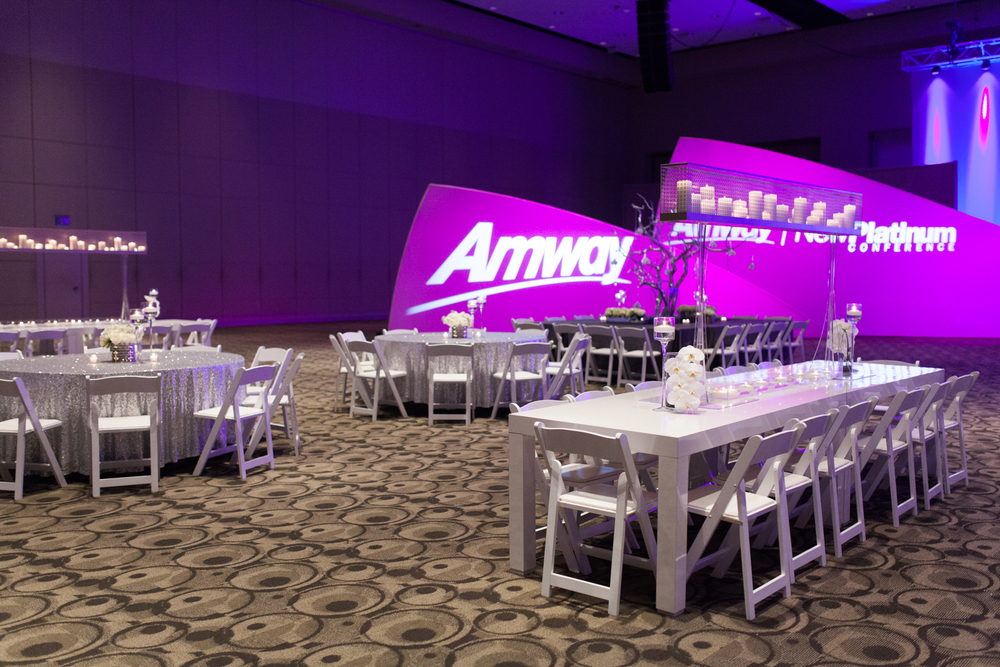 Amway Corporate Event Classic White