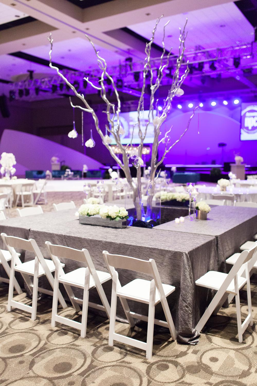 DeVos Place Convention Center Event Silver Linen
