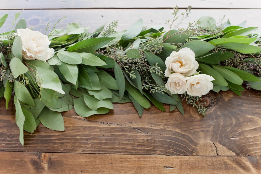 Grand Rapids, Michigan Floral Table Garland