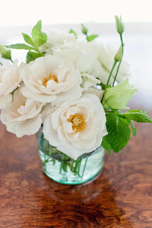 Gillette Bridge Mason Jar with Roses