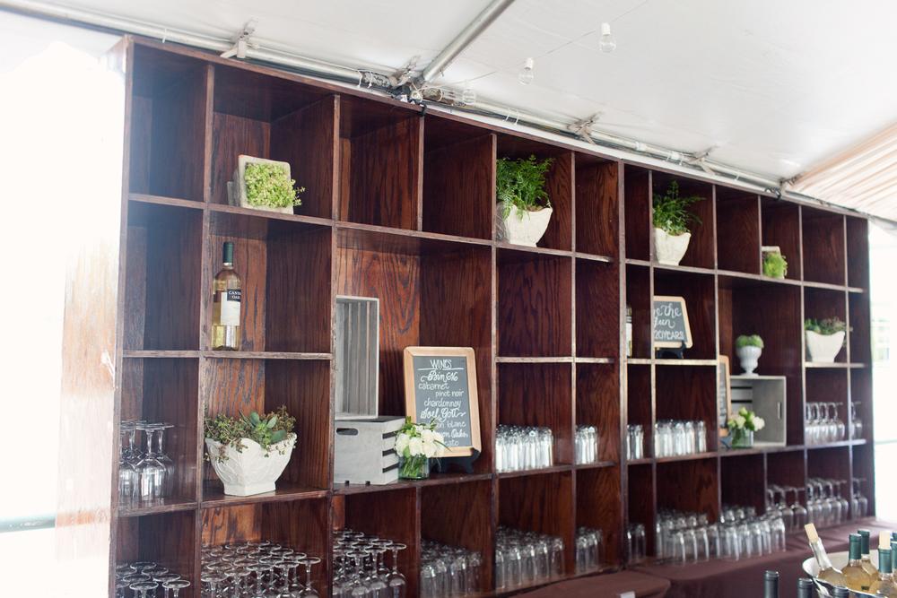 Grand Rapids, Michigan Corporate Event Rustic Bar