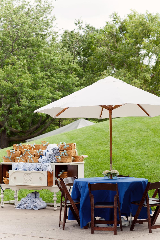 Grand Rapids, Michigan Park Event with Vintage Rental Furniture