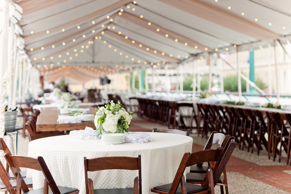 Beautiful Tented Event for National Heritage Academdy