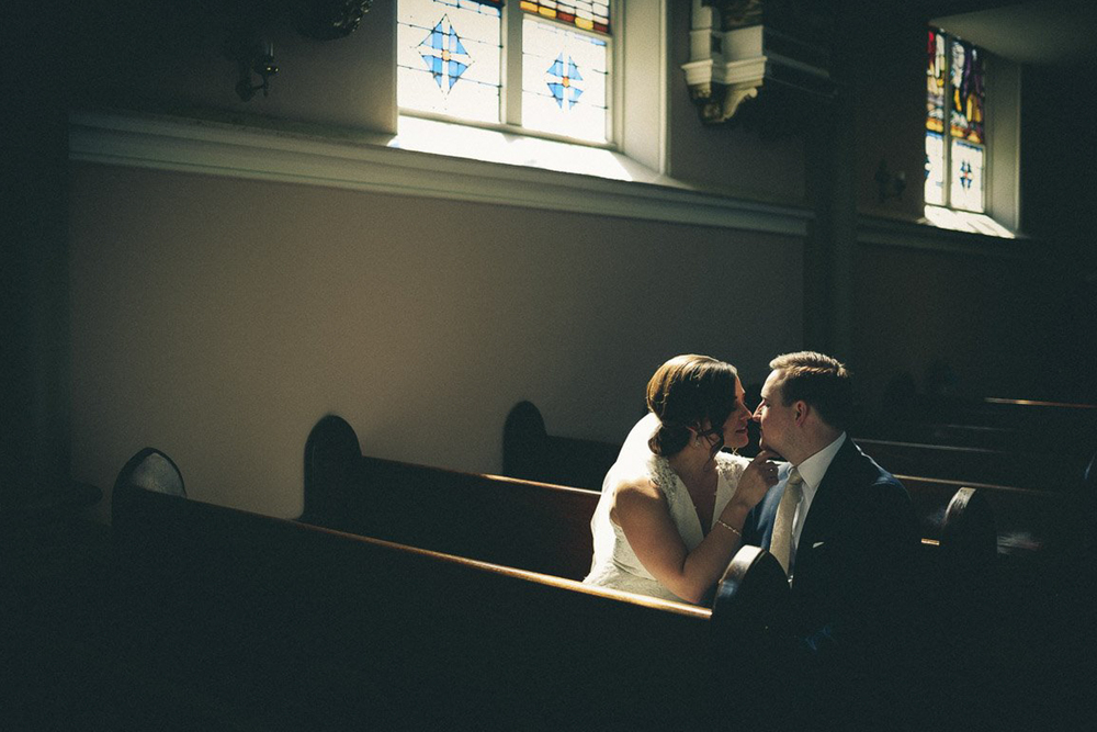 Church Wedding in Grand Rapids Bride and Groom Photos