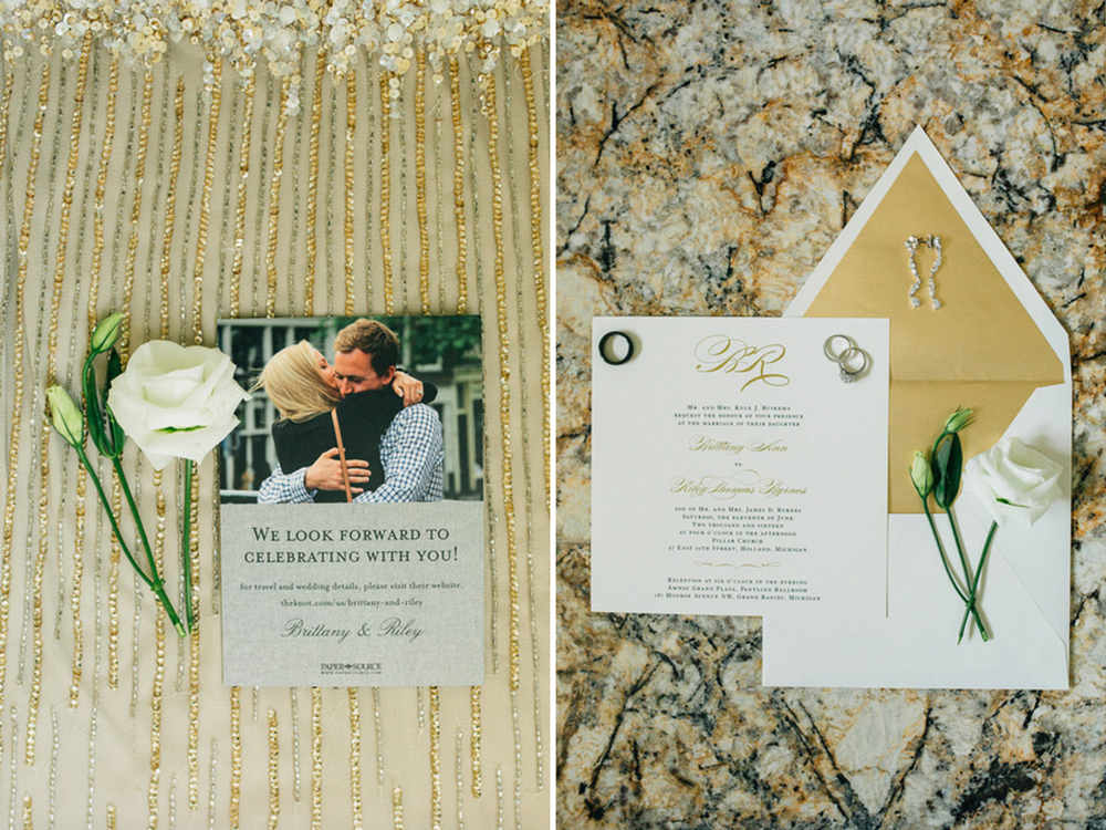 Holland, Michigan Wedding Cute Save the Date