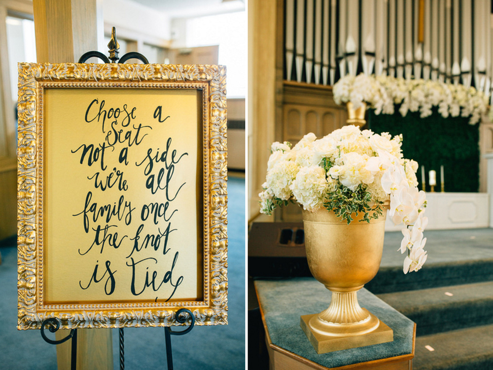 Holland, Michigan Wedding Calligraphy Seating Chart