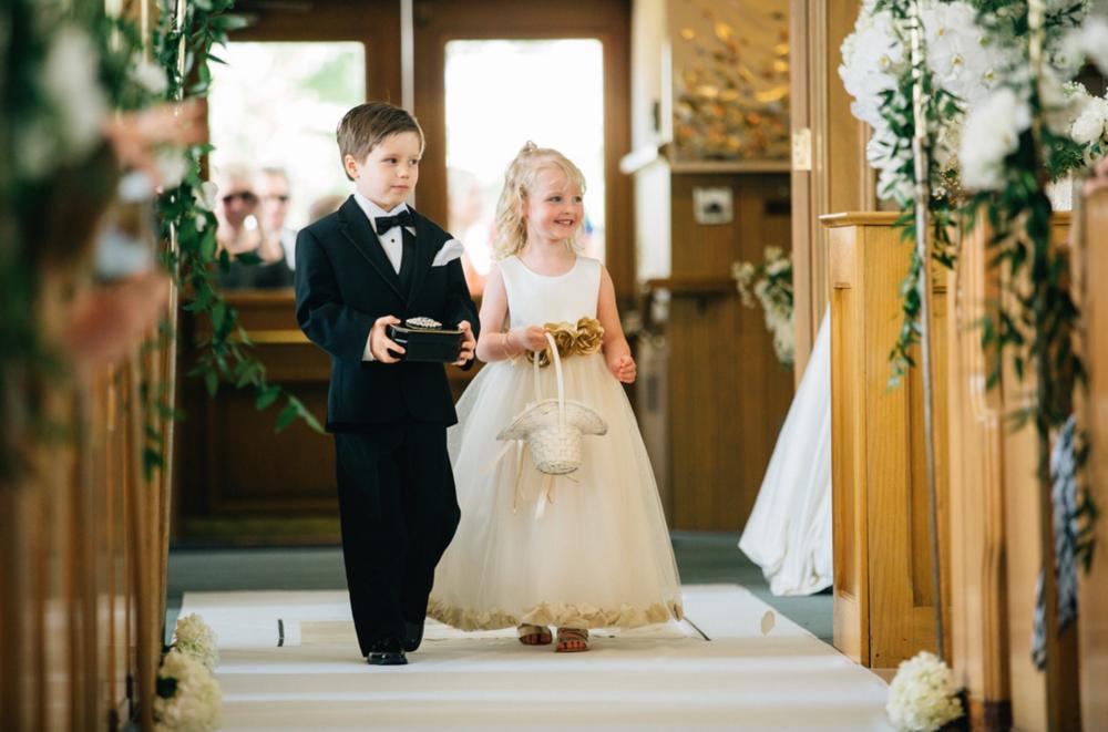 Holland, Michigan Wedding Cute Flower Girl Photos