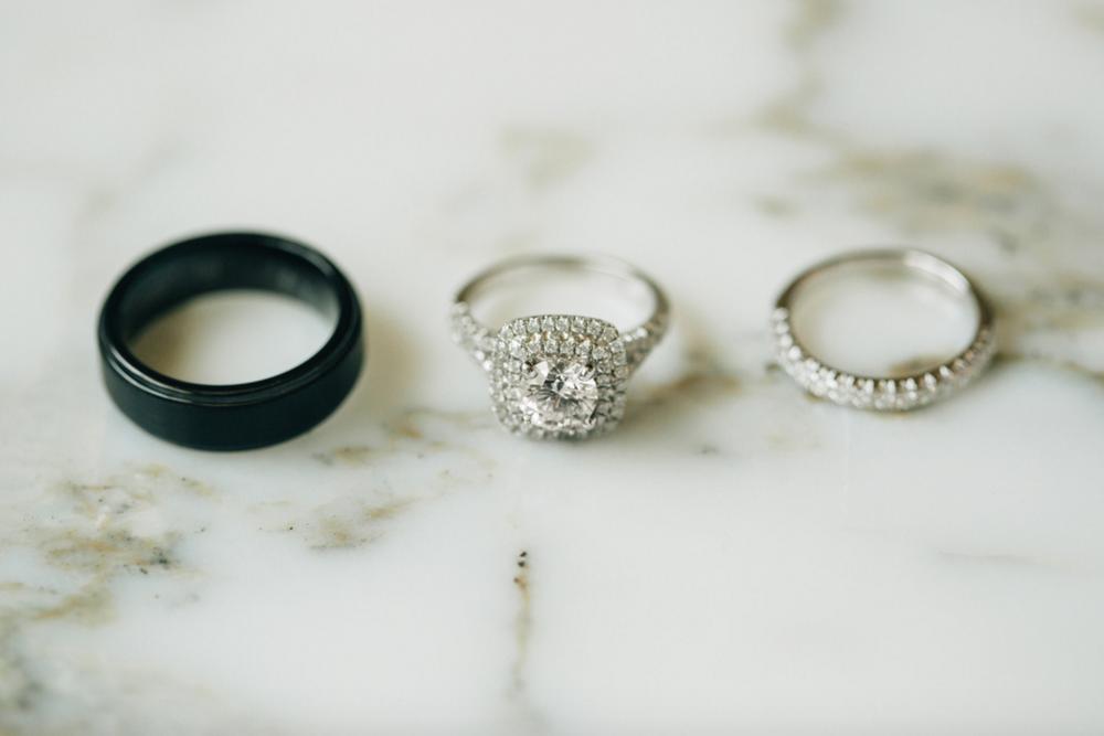 Holland, Michigan Wedding Detail Photos of Rings