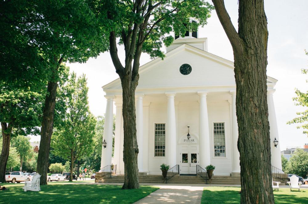 Pillar Church Wedding in Holland, Michigan
