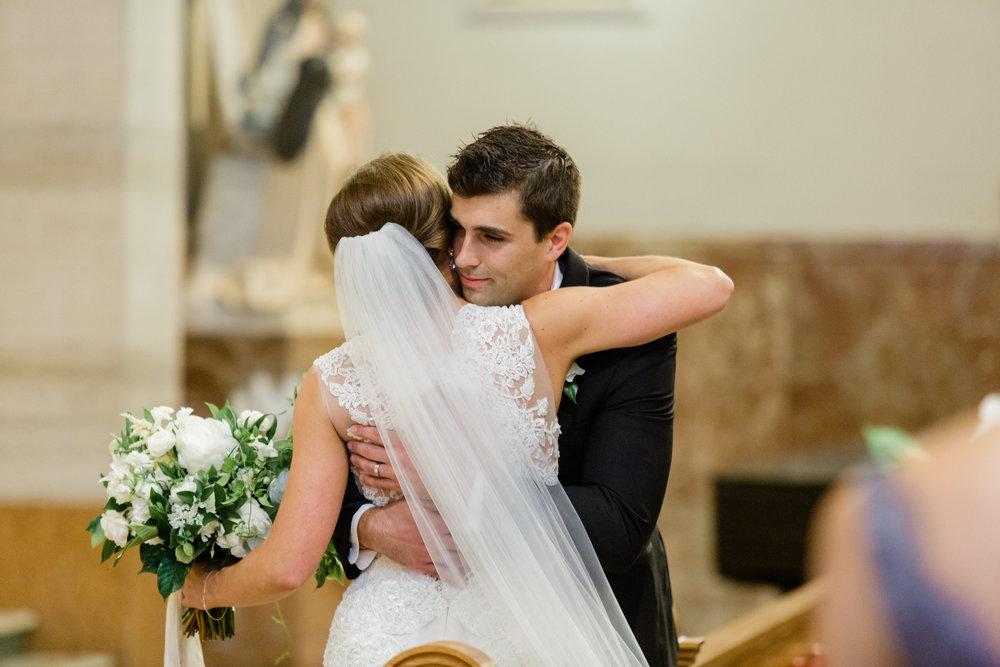 Basilica of St. Adalbert Church Wedding Ceremony