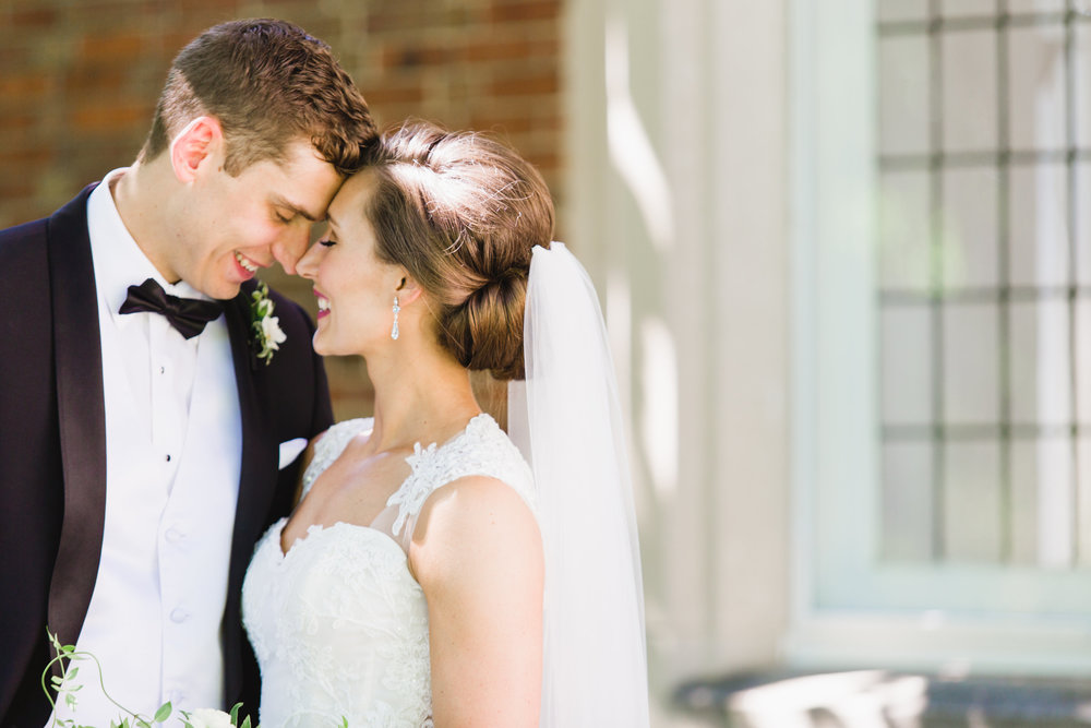 Grand Rapids, Michigan Intimate Bride and Groom Wedding Photos