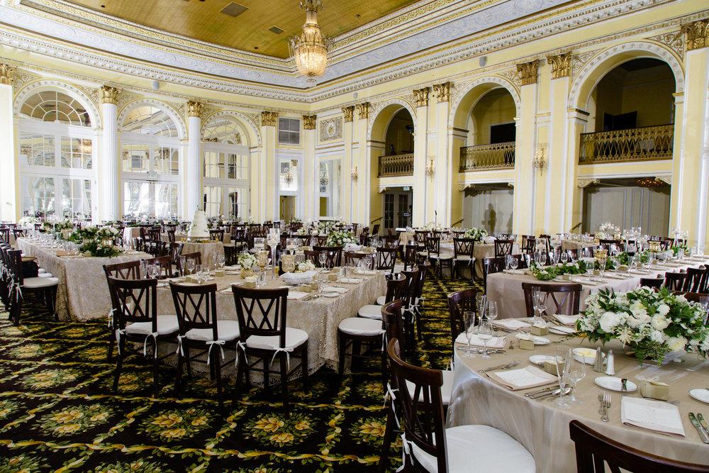 Amway Grand Plaza Hotel Wedding Reception Photos