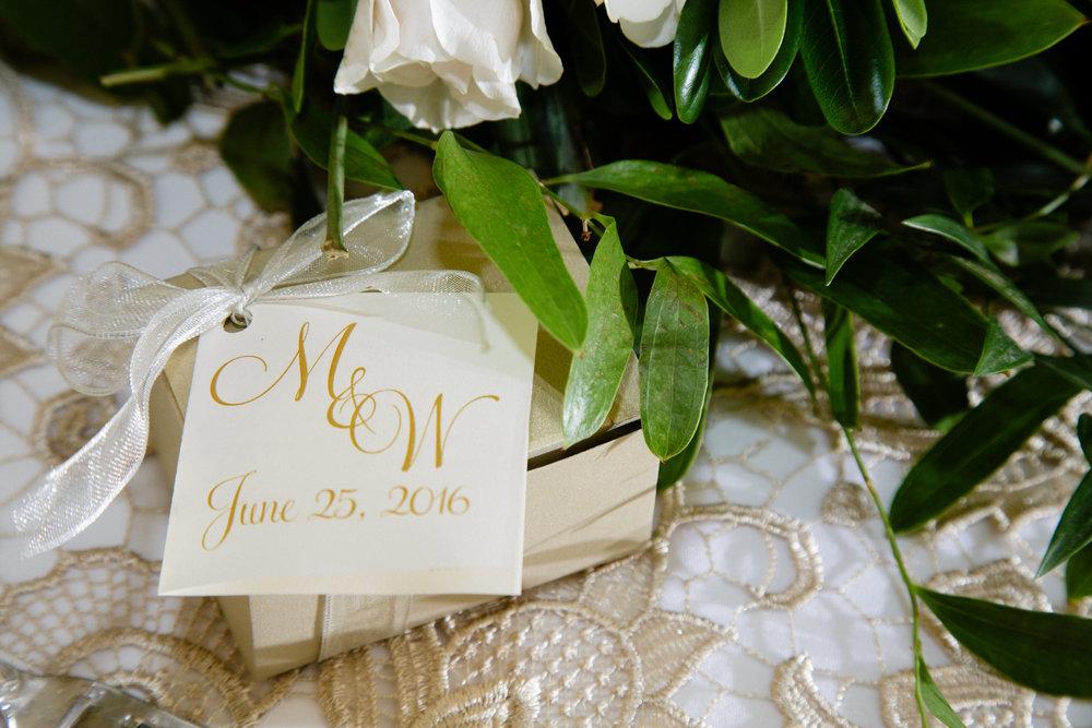 Grand Rapids, Michigan Wedding Escort Card Inspiration