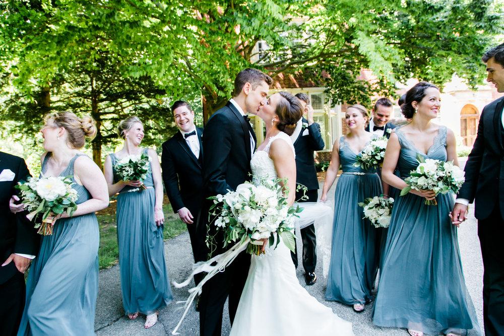 Downtown Grand Rapids Bridal Party Photos