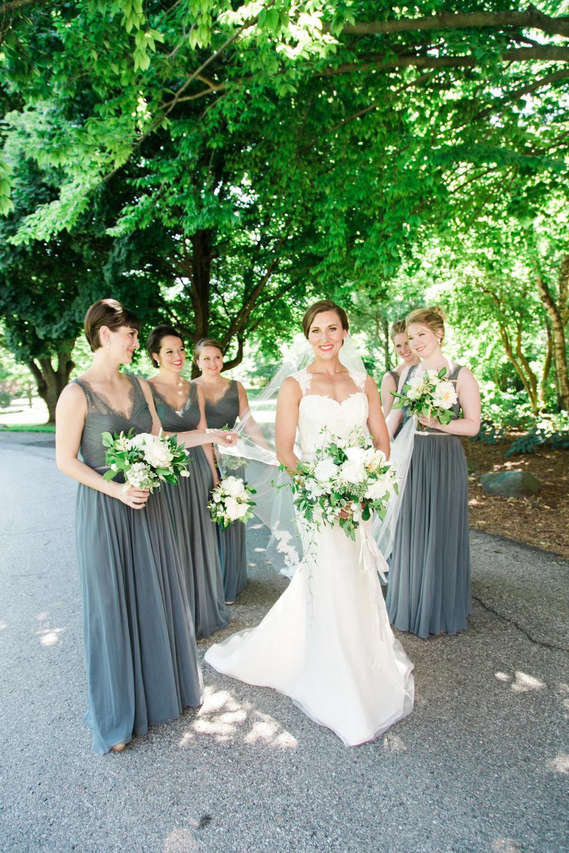 Grand Rapids, Michigan Bridesmaids Photos