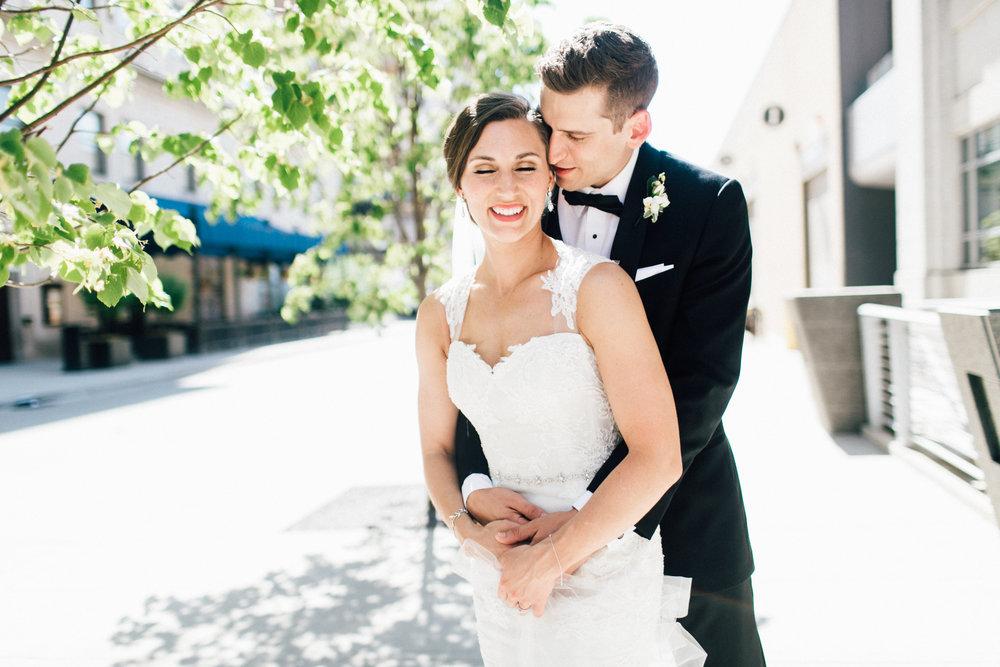 Downtown Grand Rapids by Blue Bridge Wedding Photos