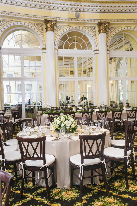 Amway Grand Plaza Hotel Pantlind Ballroom Wedding Reception