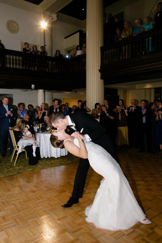 Grand Rapids, Michigan Ballroom Wedding First Dance Photos