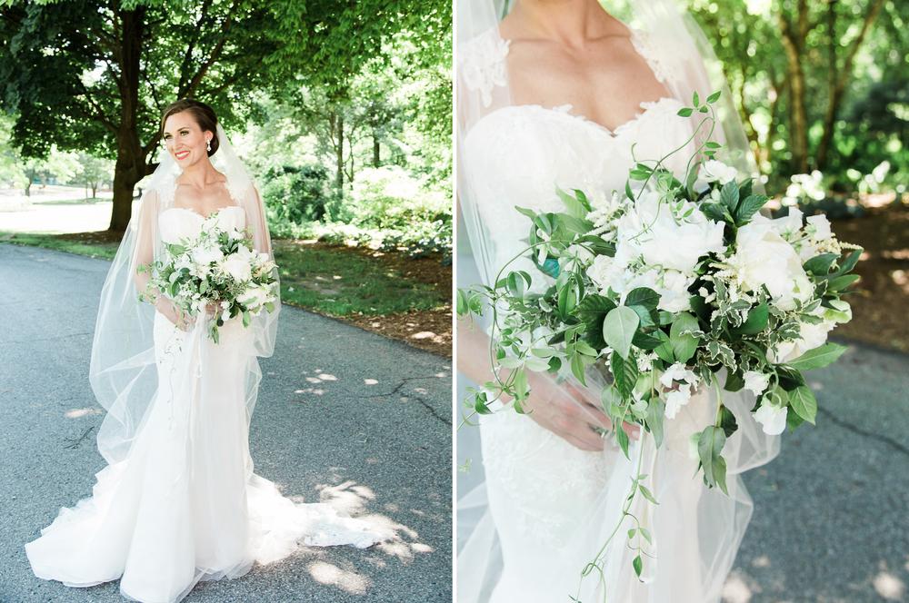 Michigan Florist White Bridal Bouquet