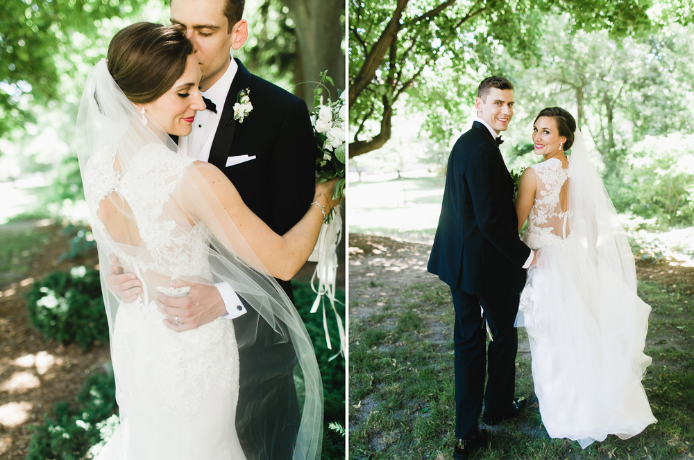 Grand Rapids, Michigan Cute Bride and Groom Photos Together