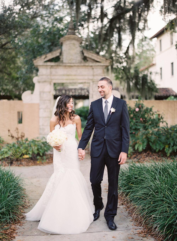 Classic Outdoor Florida Wedding in Orlando
