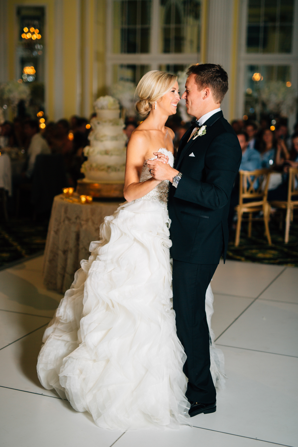 Amway Grand Plaza Cute Photos of Bride and Groom Dancing