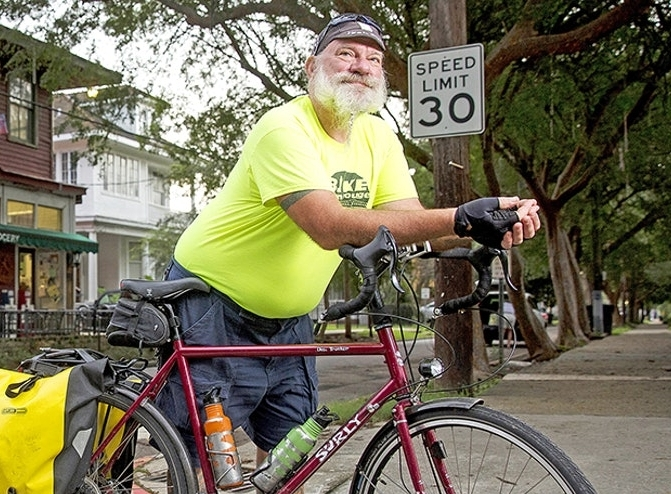 Mark Martin, founder of Bike Baton Rouge