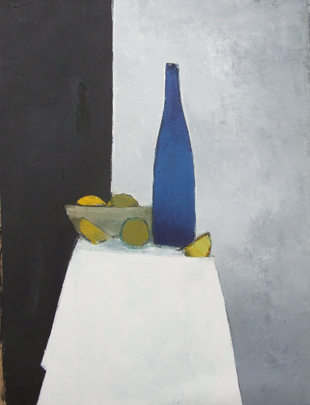 Cormac O'Leary,  Night Still Life , 2016 Oil on Canvas, 24x 18 ins. Private Collection UK
