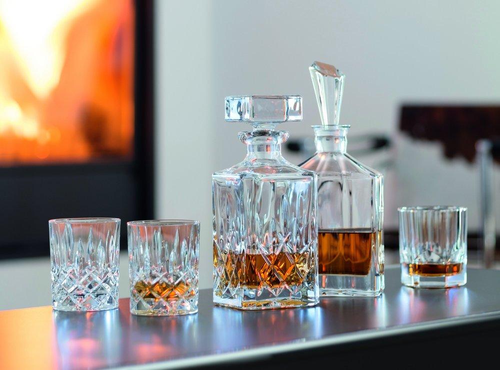 Nachtman whiskyset karaf + 2 glazen € 84,95