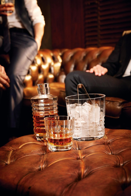 Crystal d'Arques whiskyglas: € 15,90 voor 2 stuks