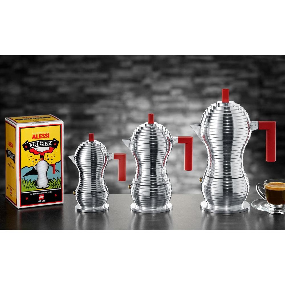Alessi espresso koffie maker € 75,-