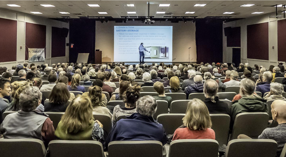 January 2018: Over 270 people attend our Summit: Powering Our Future