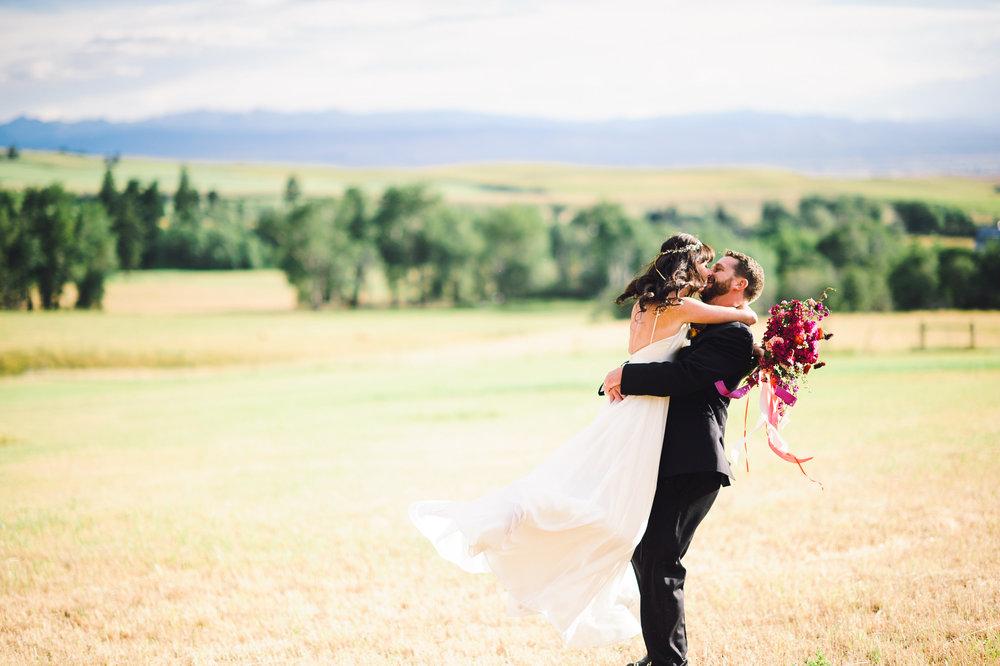 Rachel + Colter - Bozeman, Montana