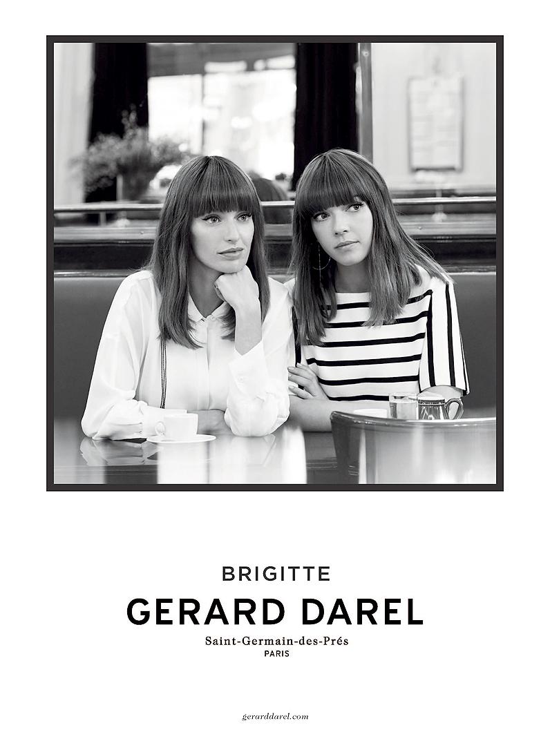 BRIGITTE X GERARD DAREL - Ad campaign SS14-15