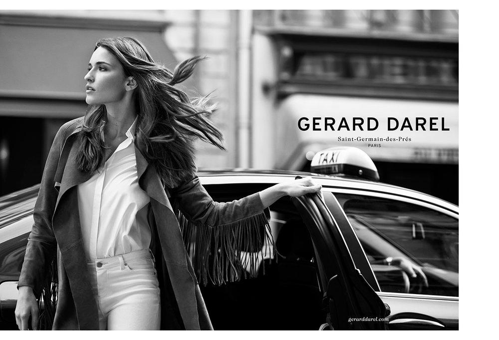GERARD DAREL  - Ad campaign FW14-15