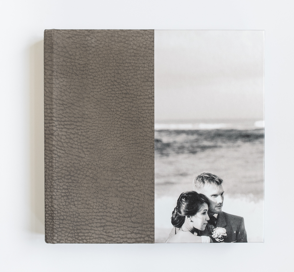 "12"" x 12"" Duo album, with photofront"