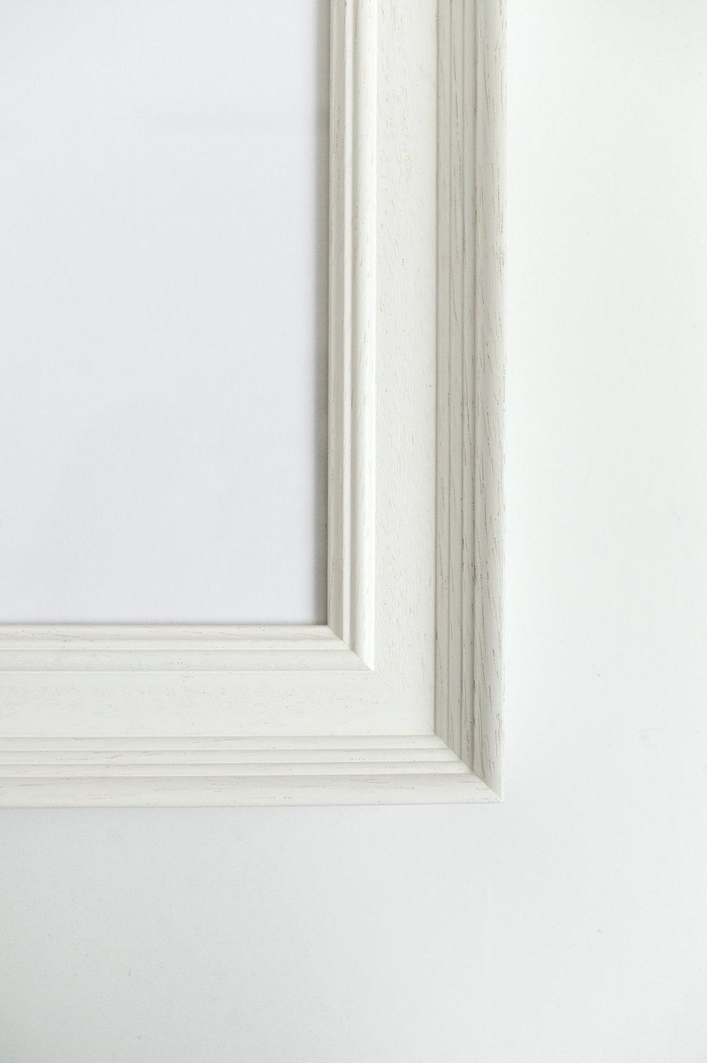 Dunnotar, white frame