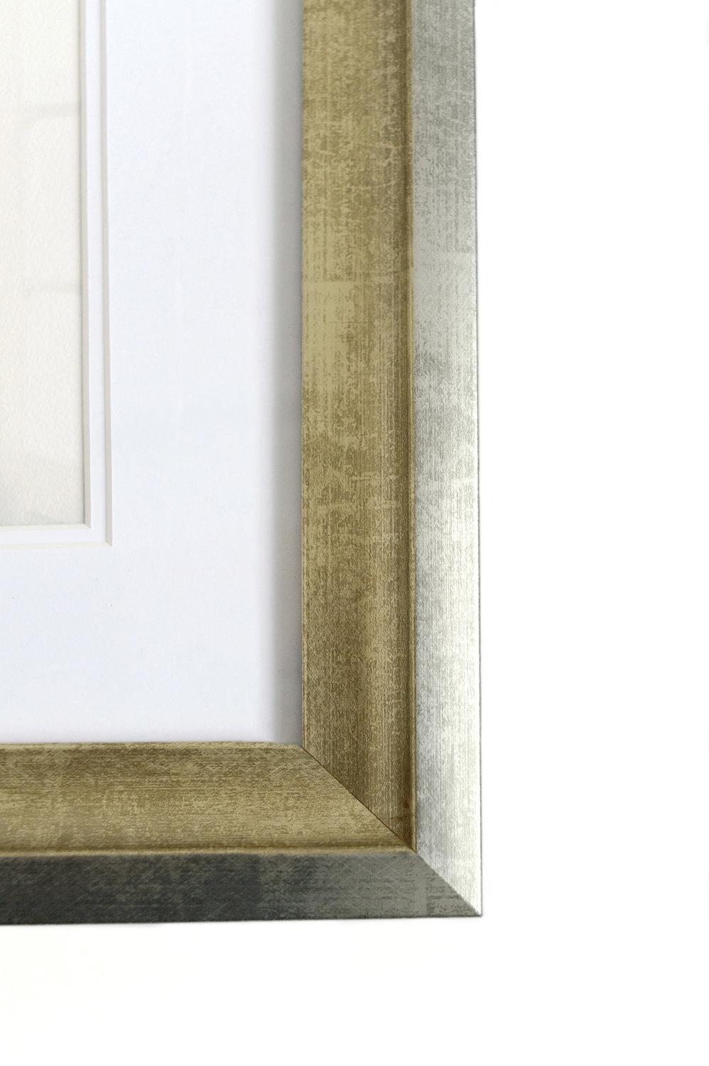Culzean, champagne-silver frame