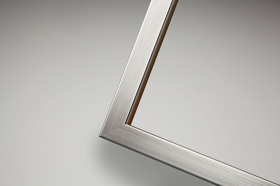 Braemar frame, Satin Steel finish