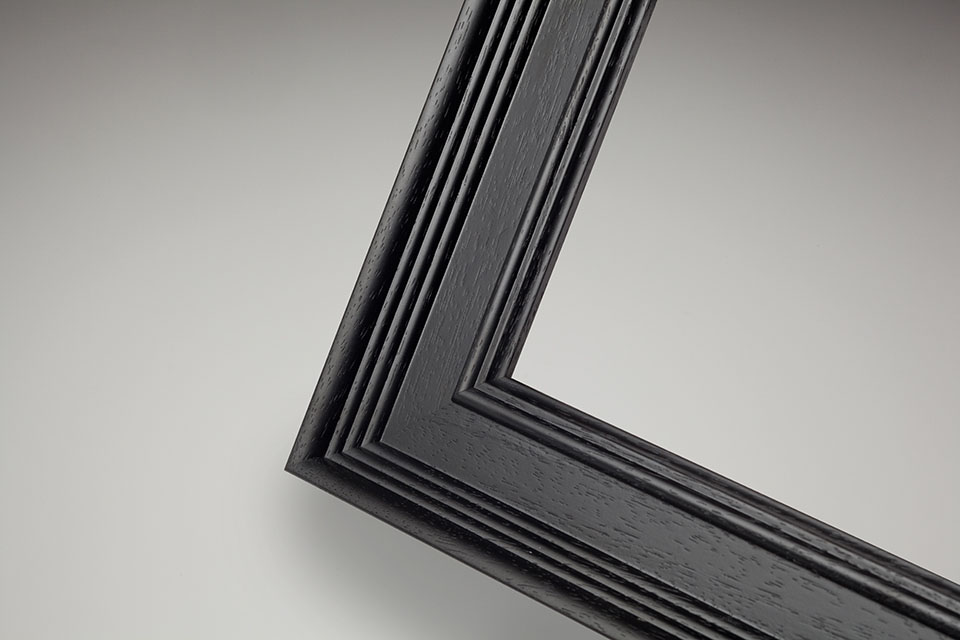 Dunnottar frame, black finish