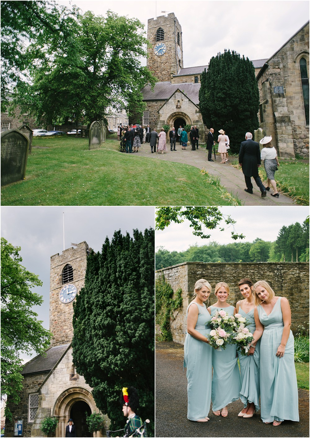 wedding photographer in northumberland capheaton hall and st andrew's church corbridge
