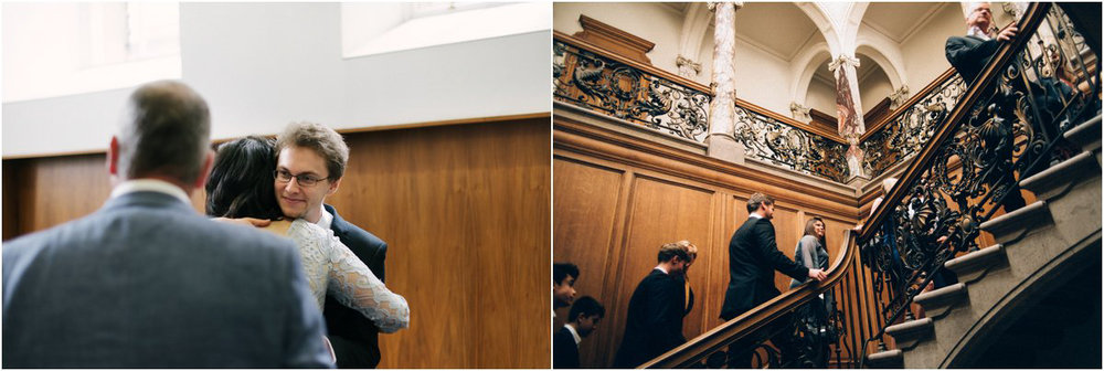 Wedding photography at Thomas Morton Hall in Leith, Edinburgh, Scotland