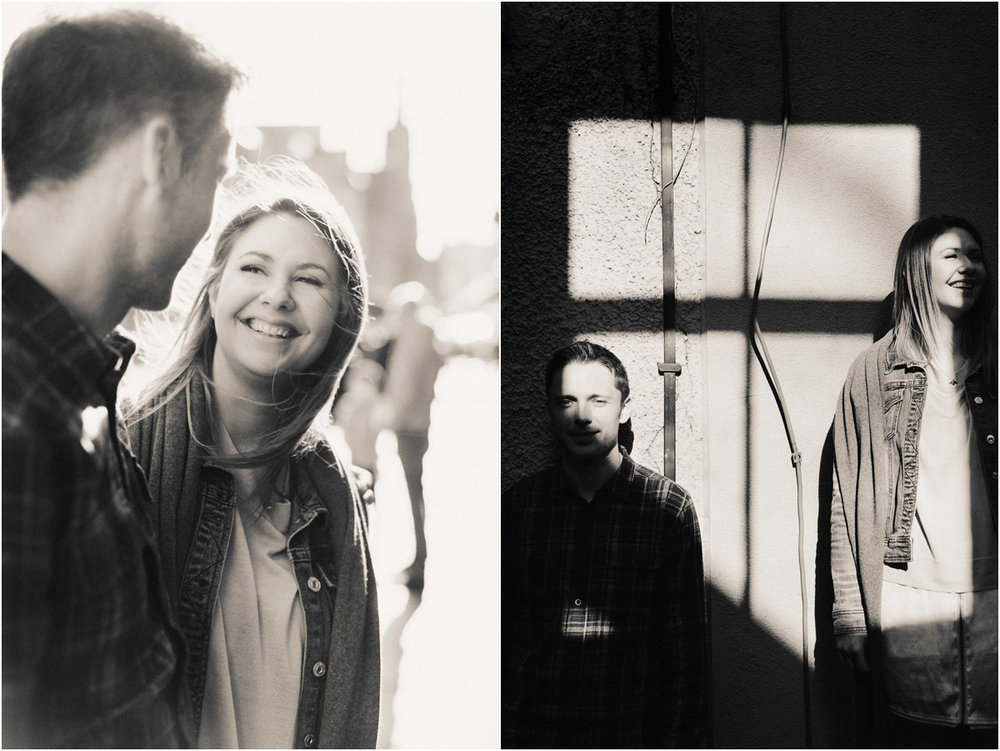 Crofts & Kowalczyk Photography engagement shoot in Edinburgh