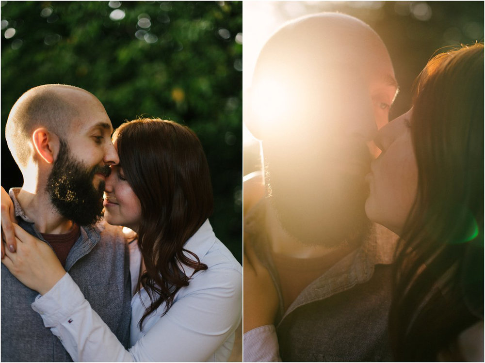 Edinburgh engagement portraits with Kat & Jimmy by Crofts & Kowalczyk Photography