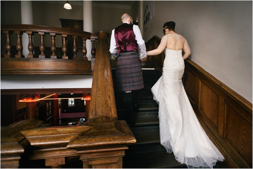 Summerhall Edinburgh wedding photography by Crofts & Kowalczyk
