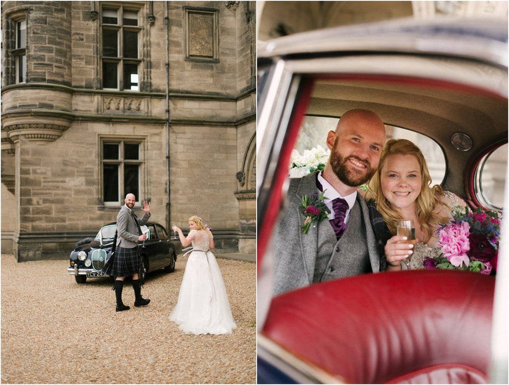 Crofts & Kowalczyk Photography, Scottish wedding of Jodie and John in Fettes College chapel in Edinburgh and The National Mining Museum Scotland