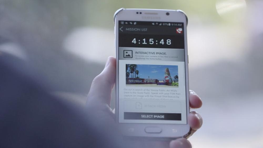 Samsung Galaxy S6 Mobile Training App