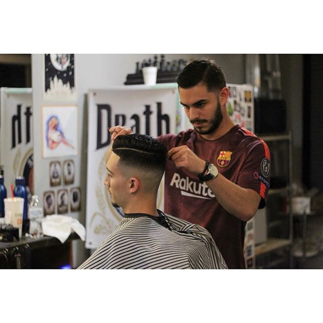 So proud to welcome Felipe Corrales to the 5th Avenue Barber family.