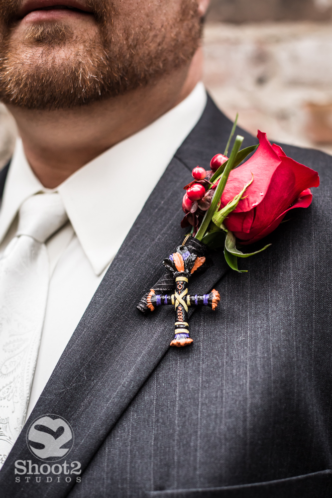 voodoo wedding pin